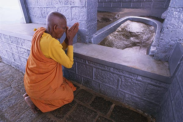 Adam's Peak Buddhist Monk